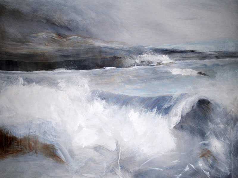 Storm at Harlosh, Skye