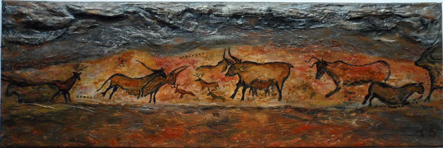 Cave art || Art in Felton
