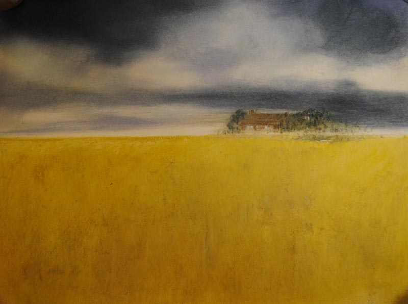 House in Cornfield by Jackie