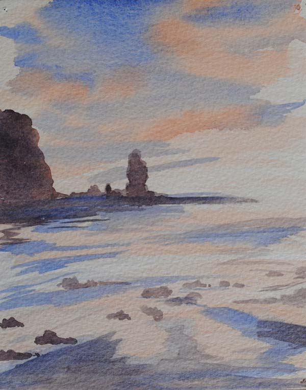 Sea stack by Doug